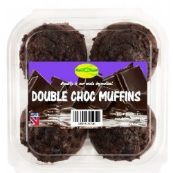 DOUBLE CHOC MUFFINS - 1.49